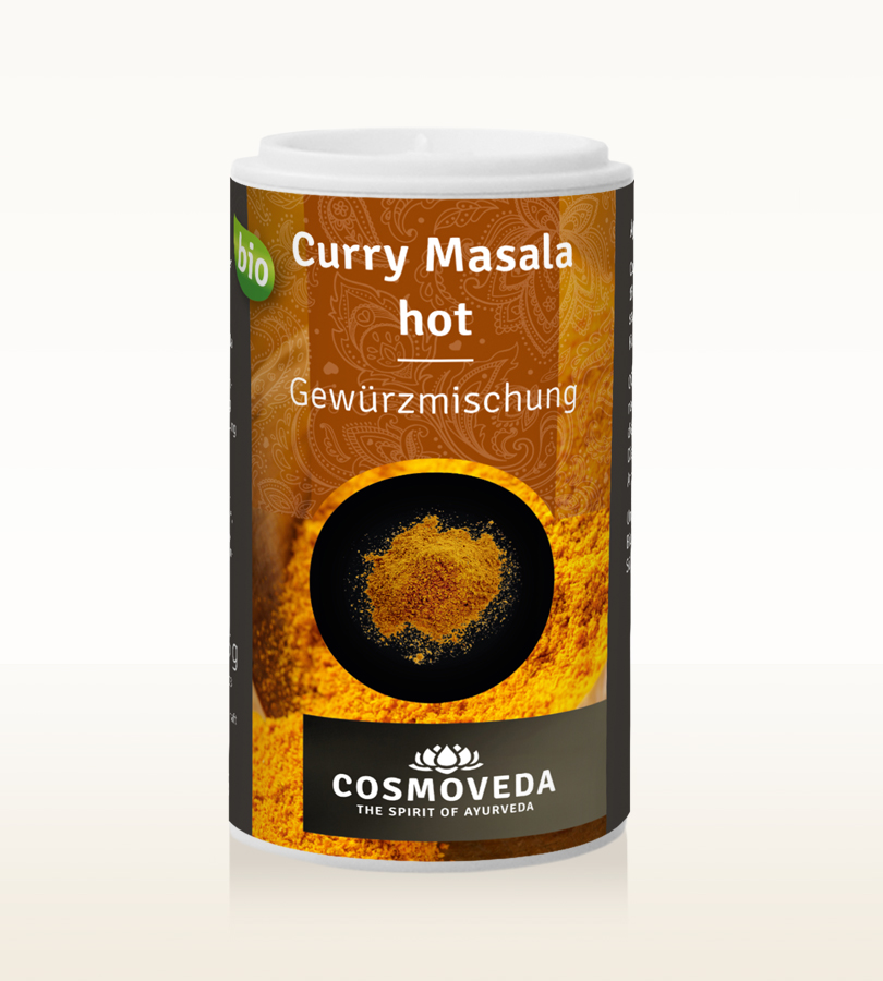 BIO Curry Powder hot 25g