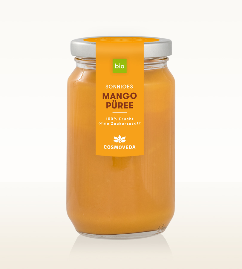 Bio Frucht Püree Mango 400ml