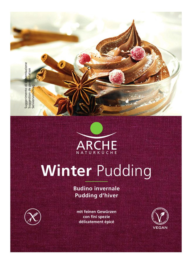Bio Winter Pudding, glutenfrei 50g