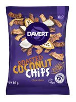 Bio Roasted Coconut Chips Chocolate 40g