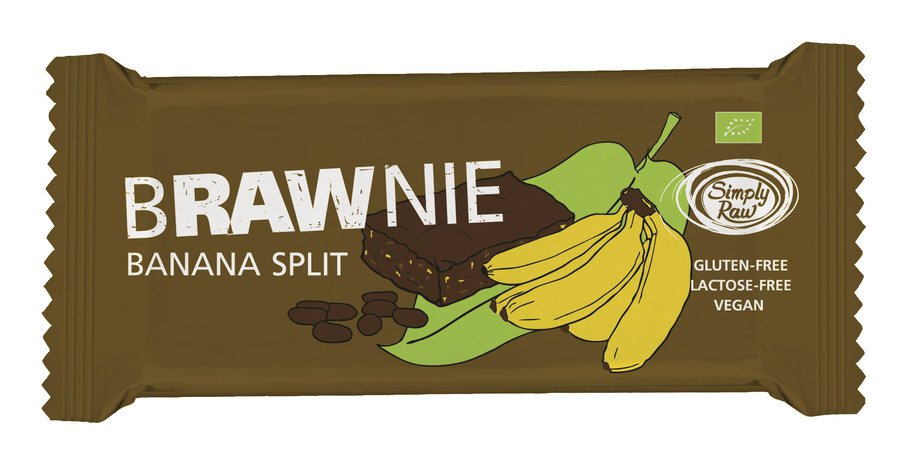 "Bio ""Banana Split"" Brawnie 45g"