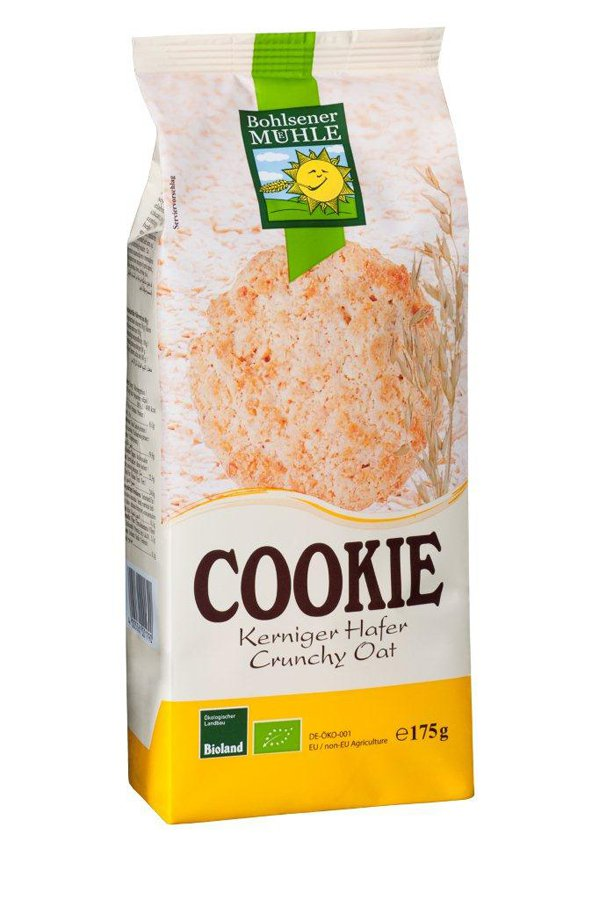 Bio Cookie kerniger Hafer, 175g
