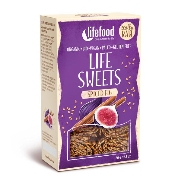 Bio LIFE SWEETS Spiced Fig RAW 80g