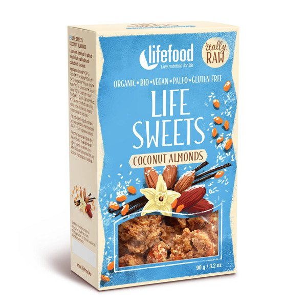 Bio LIFE SWEETS Coconut Almonds RAW 90g
