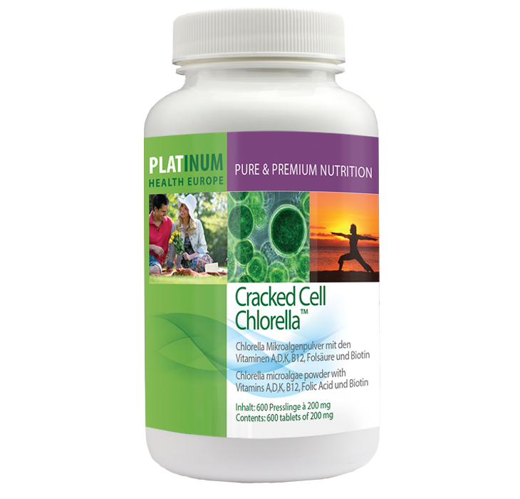 Cracked Cell Chlorella, 600 Tabs (120g)