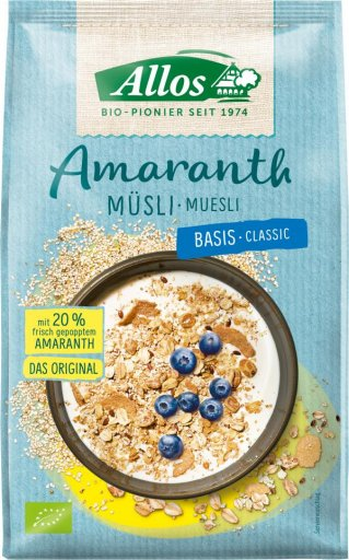 Bio Amaranth Basis Müsli, 375g